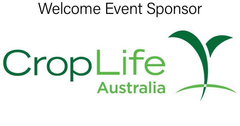 Welcome event sponsor, CropLife